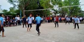 Giải bóng chuyền nam năm học 2018 - 2019